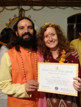 YTT500 graduation with Yogi Vishvketu